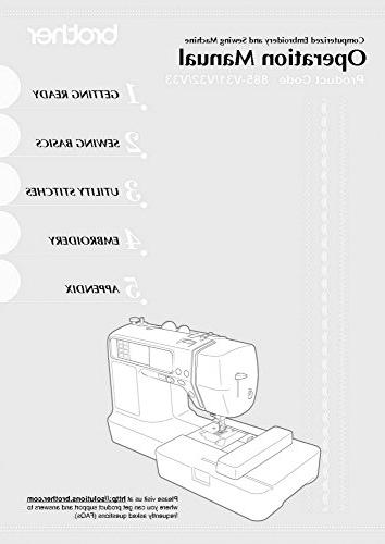Brother LB-6800 Sewing Embroidery Machine Owners