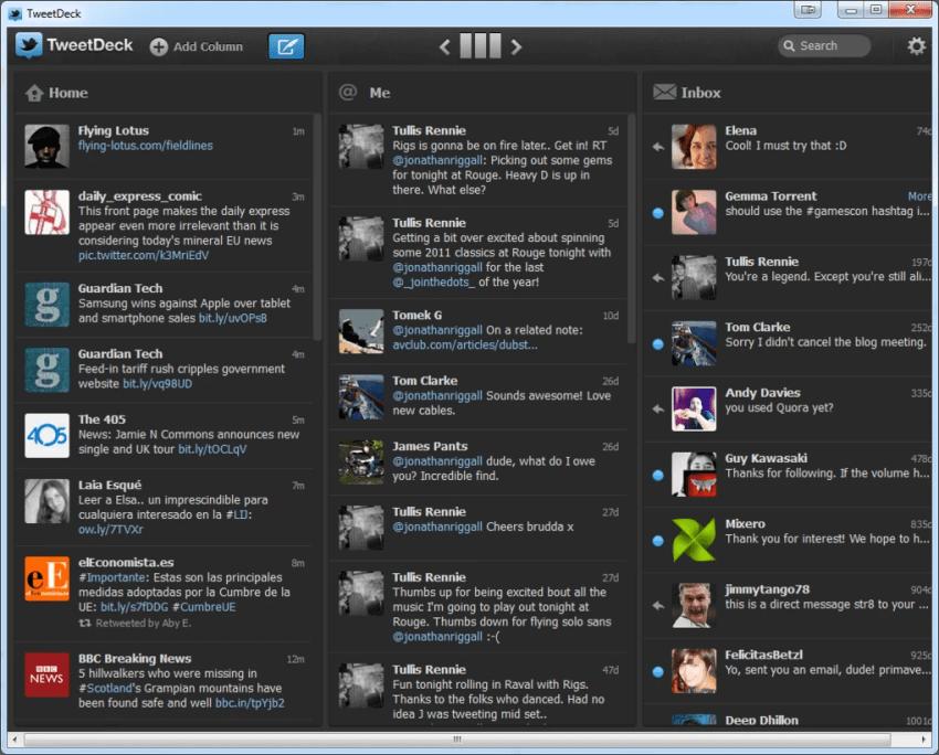Image result for tweetdeck app