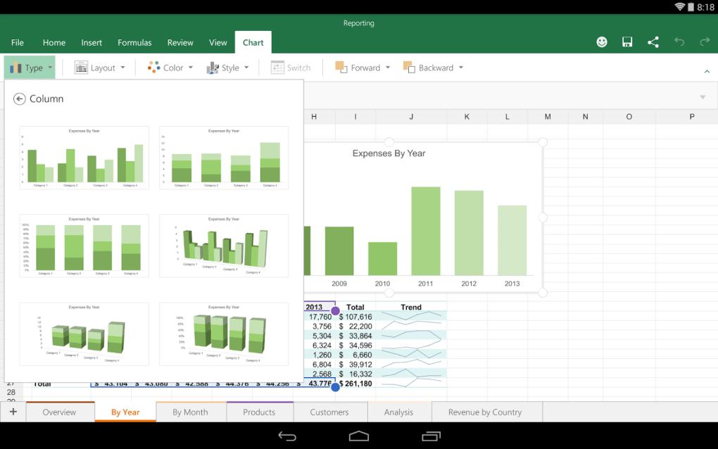 Microsoft Excel for Android - Download