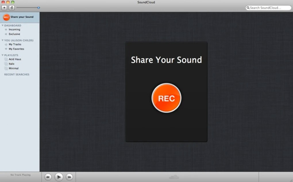 SoundCloud for Mac  Download