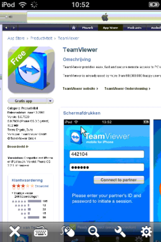 Interface Teamviewer Mac