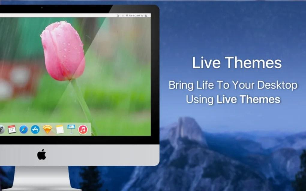 live desktop animated live