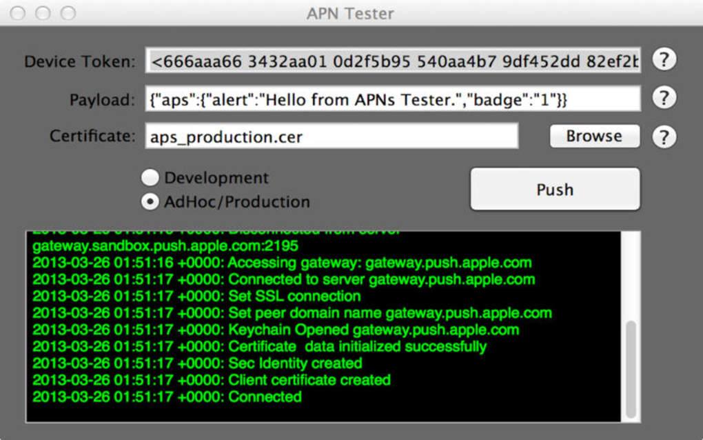 APN Tester Free for Mac  Download