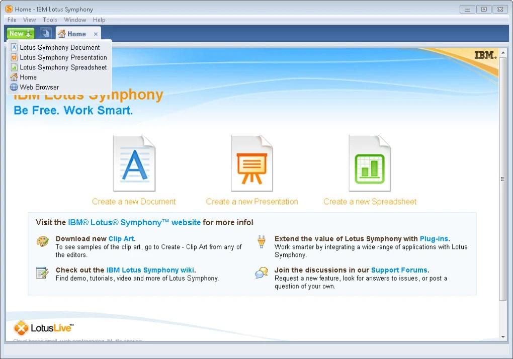 IBM Lotus Symphony - Download