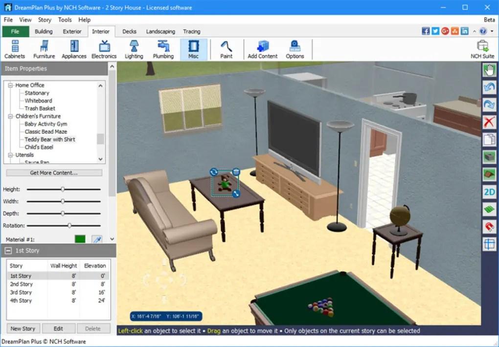 DreamPlan Home Design Software  Download