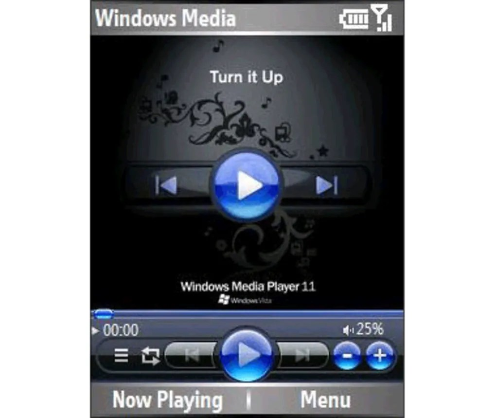 Windows Media Player Skin pour Windows Mobile  Tlcharger