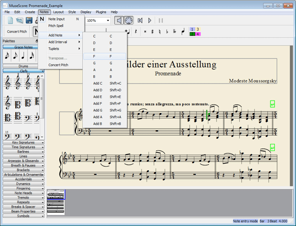 MuseScore 3 2 1 Portable Include File Download
