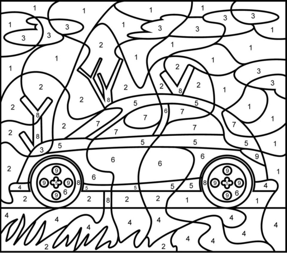 colornumbers-vehicles - ダウンロード