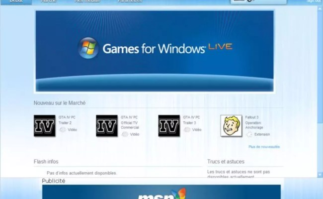 Games For Windows Live Windows Download