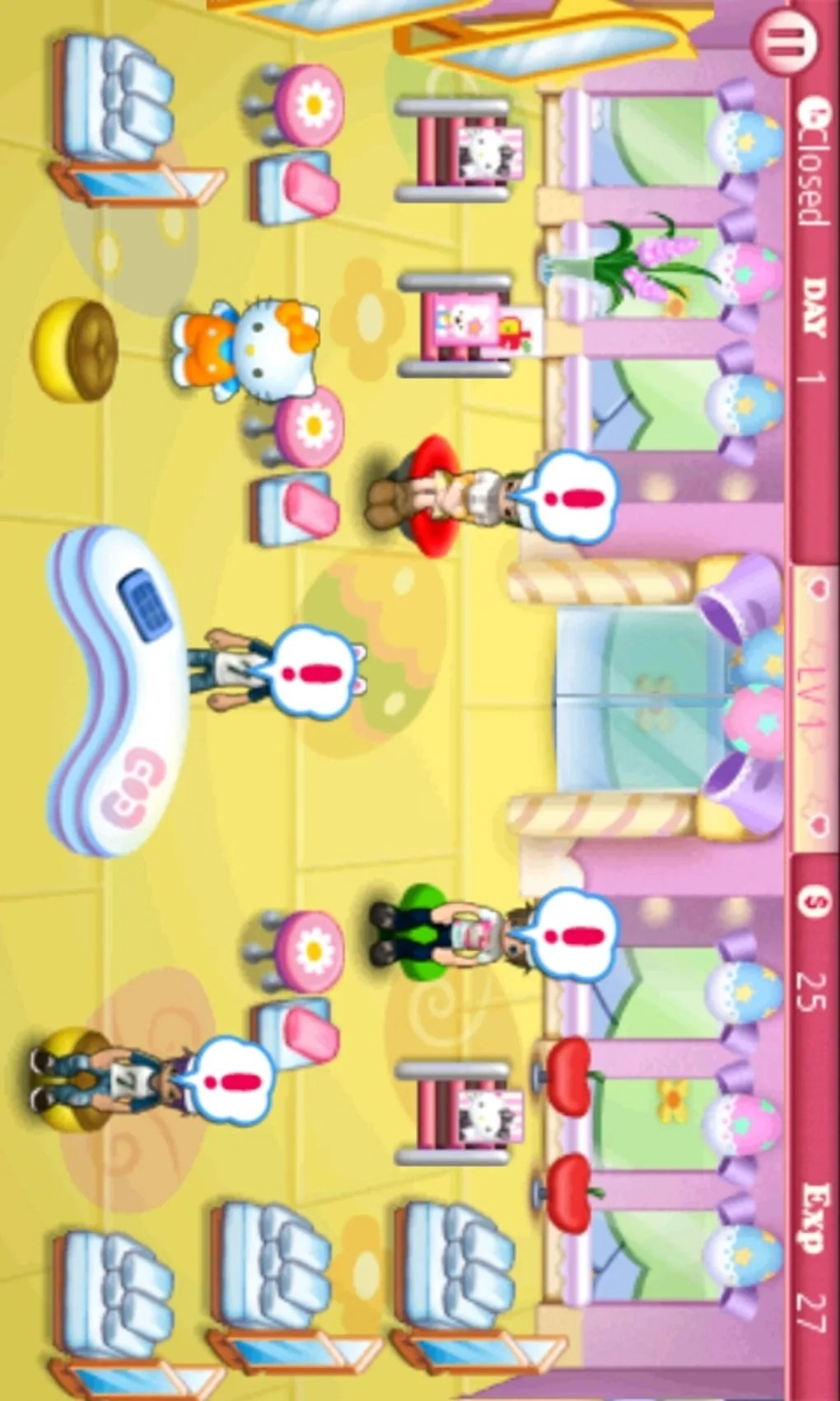 Game Salon Hello Kitty : salon, hello, kitty, Hello, Kitty, Beauty, Salon, Android, Download