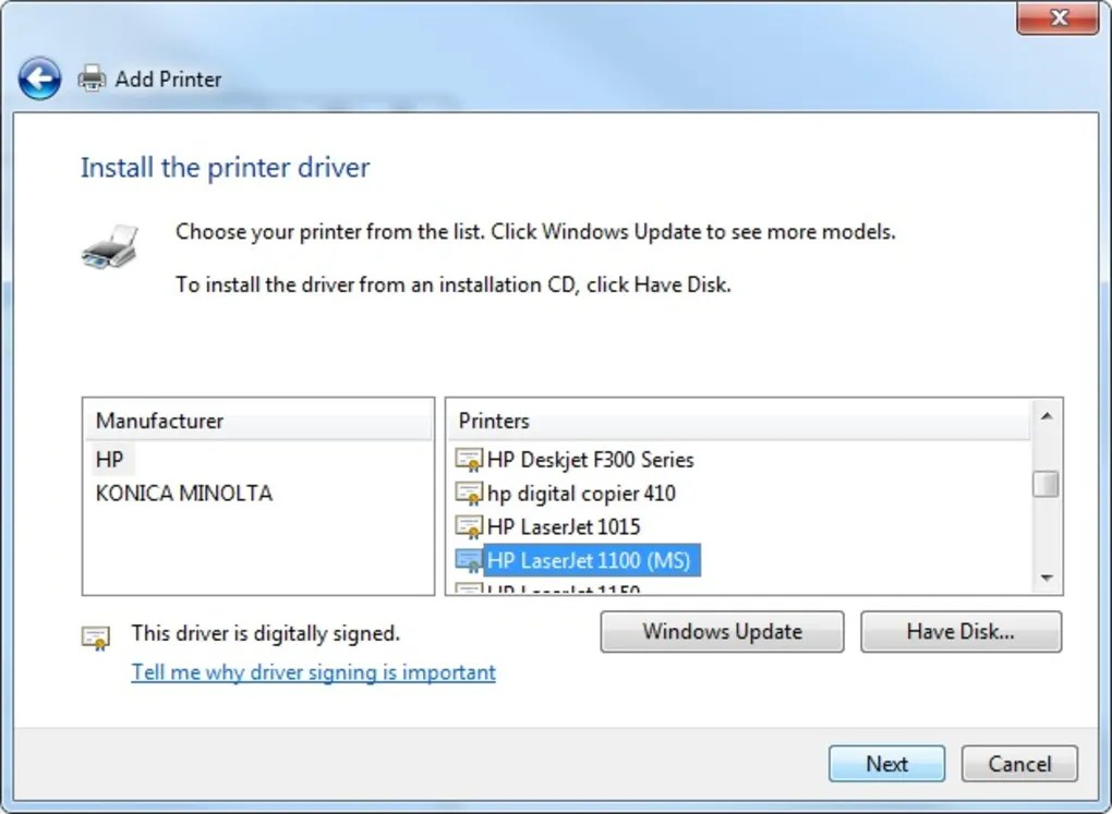 Hp Laserjet 1320n Printer Driver Download