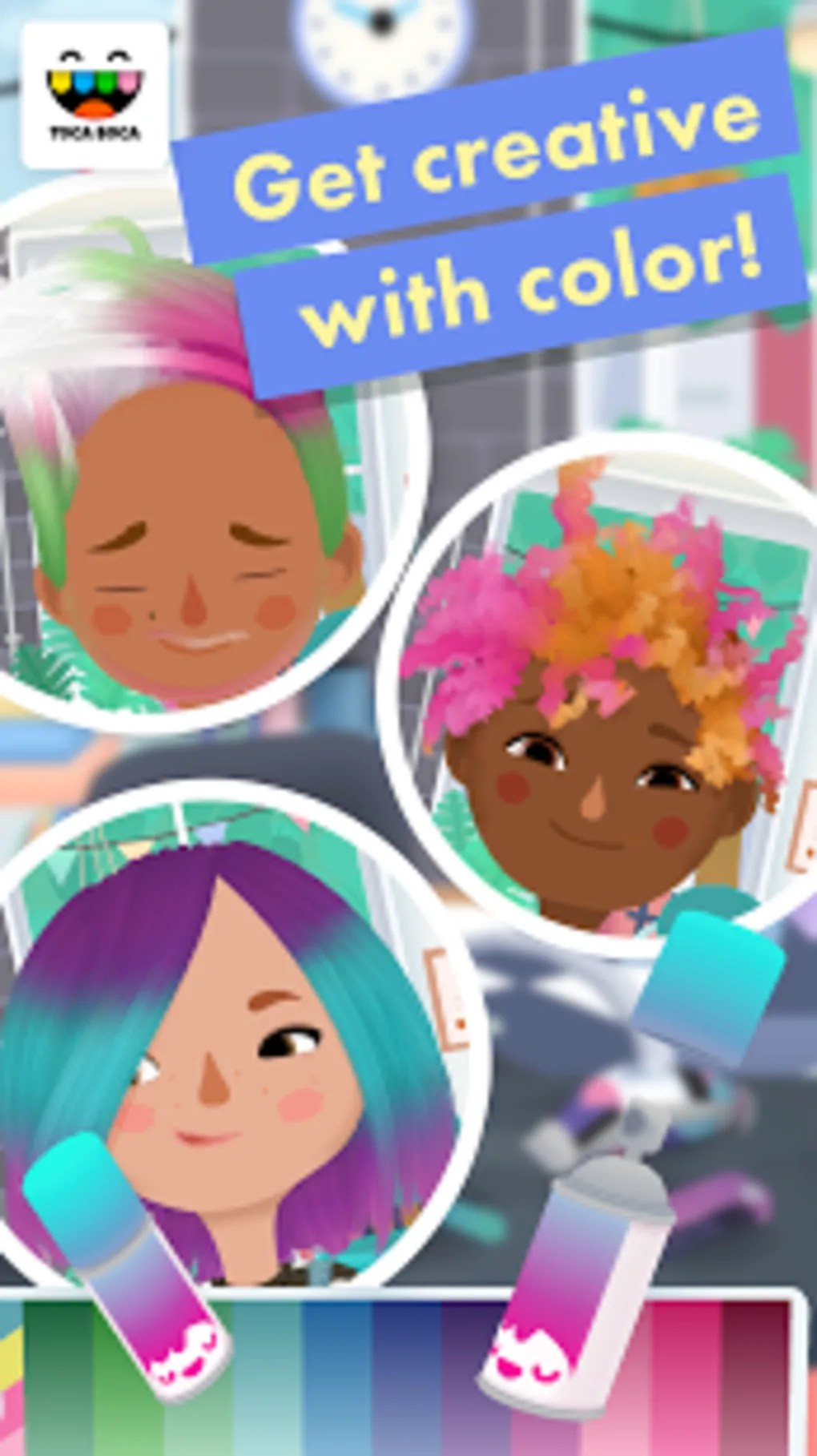 Toca Boca Hair Salon 3 : salon, Salon, Android, Download