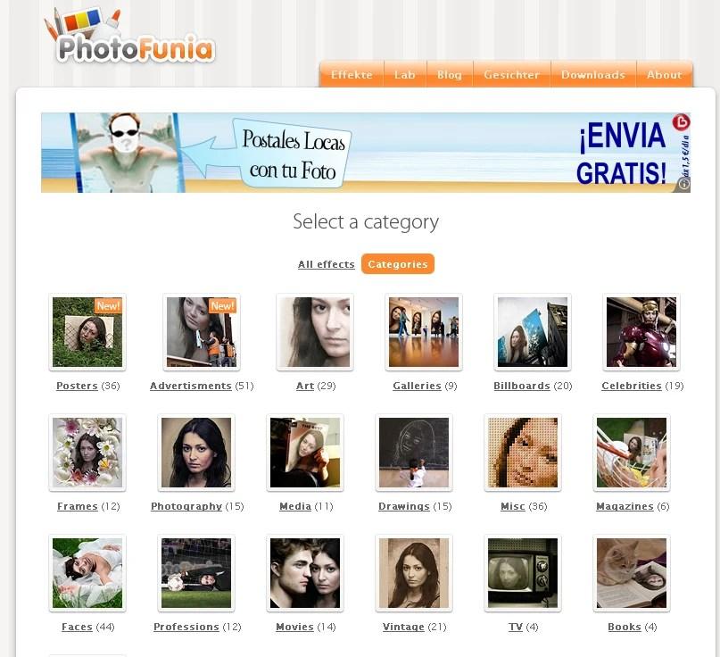 PhotoFunia Online