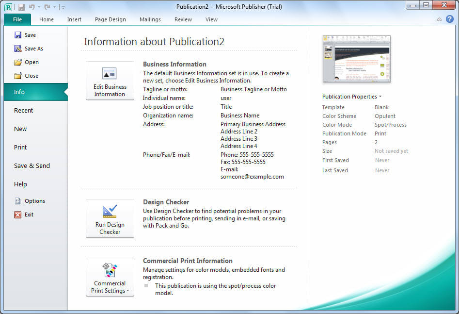 microsoft publisher 2007 free download