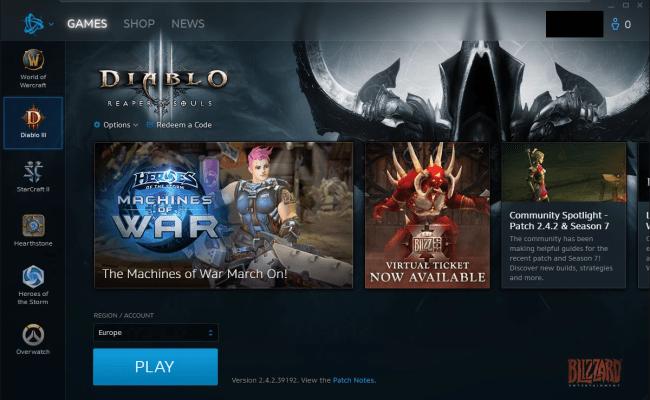 Blizzard Desktop App Download
