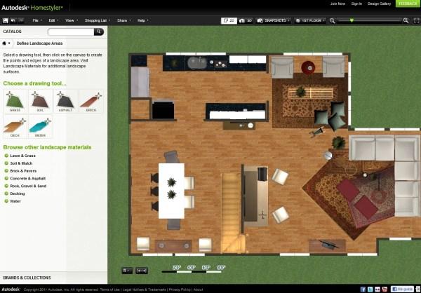Autodesk Homestyler Online
