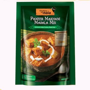 kitchen of india curtain set ready to eat cook paneer makhani malsala mix 100 gm branded foods