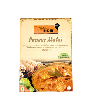 kitchen of india swedish knives ready to eat cook paneer malai 285 gm