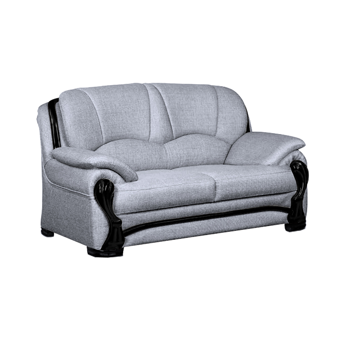 length of 2 seater sofa cost reupholstering a ireland bharat lifestyle china gate fabric color light grey online price in india buybhar