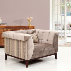 single sofa design dual reclining big lots 1 sofas couches buy wooden online at best price in india cooper fabric seater beige has been added to your wishlist already exists