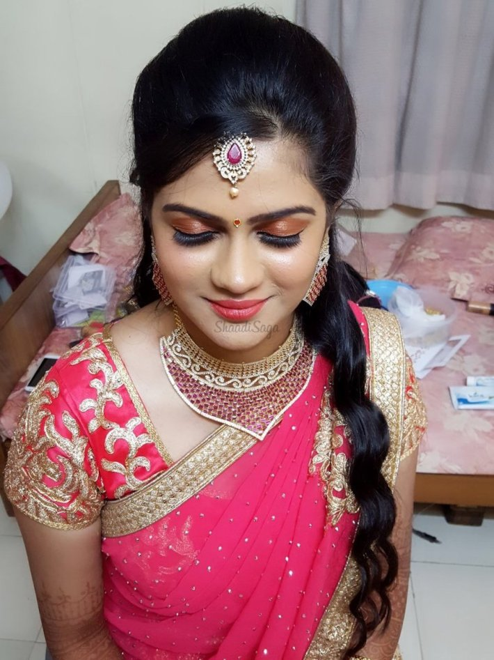 priya's bridal makeup | makeup artists in chennai | shaadisaga