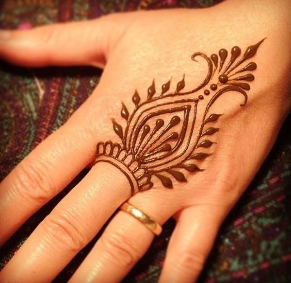 Easy Henna Designs For Feet