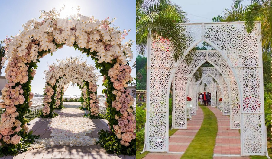 25 Magical Entrance Decor Ideas to Quirk up your Wedding