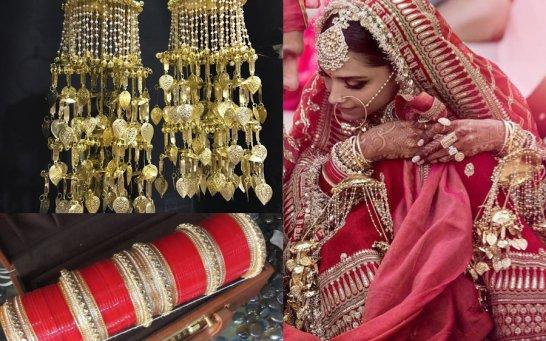 Want the Same Kaleeras & Chooda as Deepika's? Here's How much they Cost! |  ShaadiSaga
