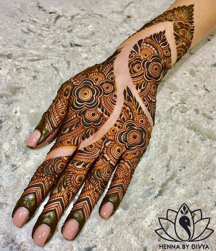 Mehndi Design Arabic New 2018