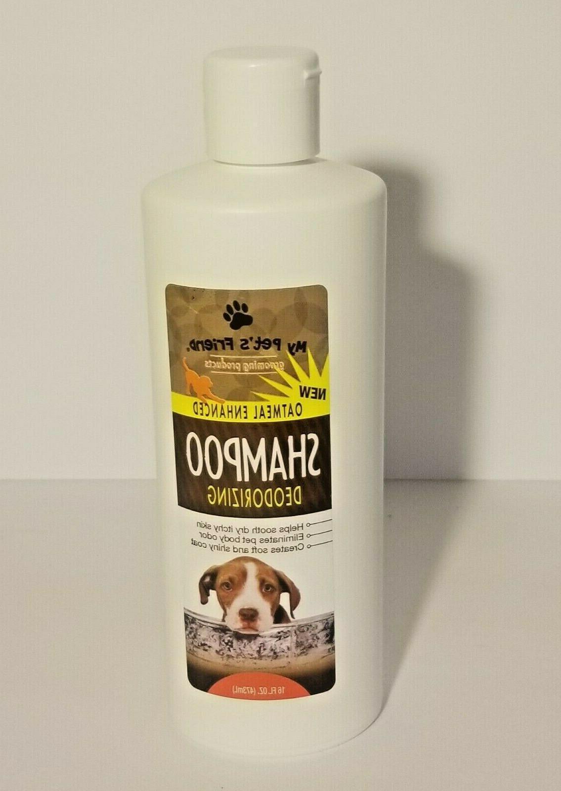 My Pets Friend Shampoo : friend, shampoo, Pet's, Friend, Oatmeal, Enhanced, Deodorizing, Shampoo,