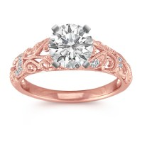 Rose Gold Diamond Wedding Ring