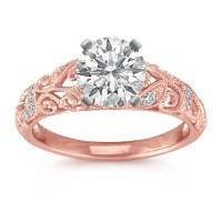 Rose Gold Diamond Wedding Ring - Image Wedding Ring ...