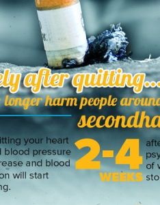 Quit smoking timeline also how to for good quitting tips smokers shape magazine rh
