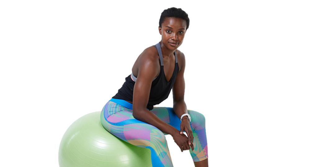 Full Body Workout With Stability Ball Exercises Shape