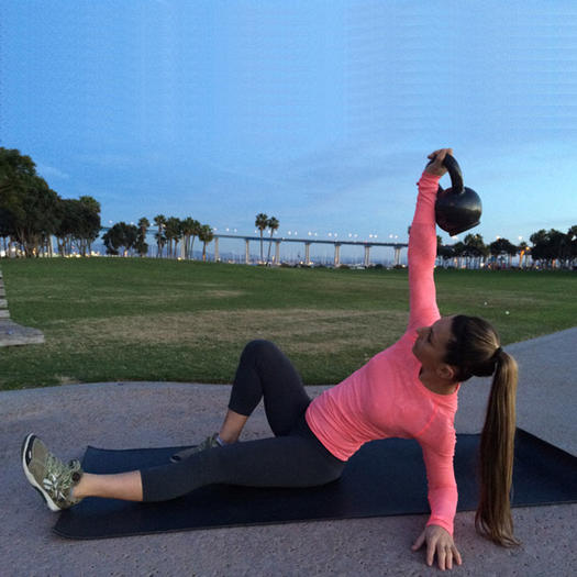 Kettlebell Workout 7 Full Body Exercises To Burn Fat in