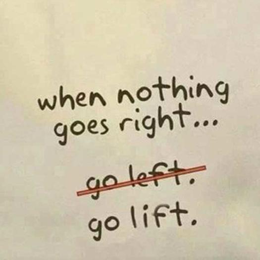 when nothing goes right 0 - 25 Inspirational Fitness Quotes to Motivate Every Aspect of Your Workout