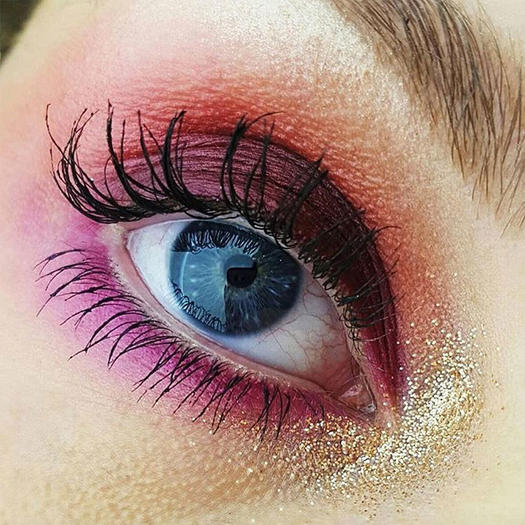 Festive Holiday Beauty Inspiration from Instagram Shape