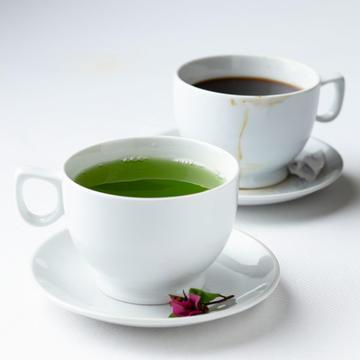 Health Benefits Of Coffee And Tea With Sweeteners Shape