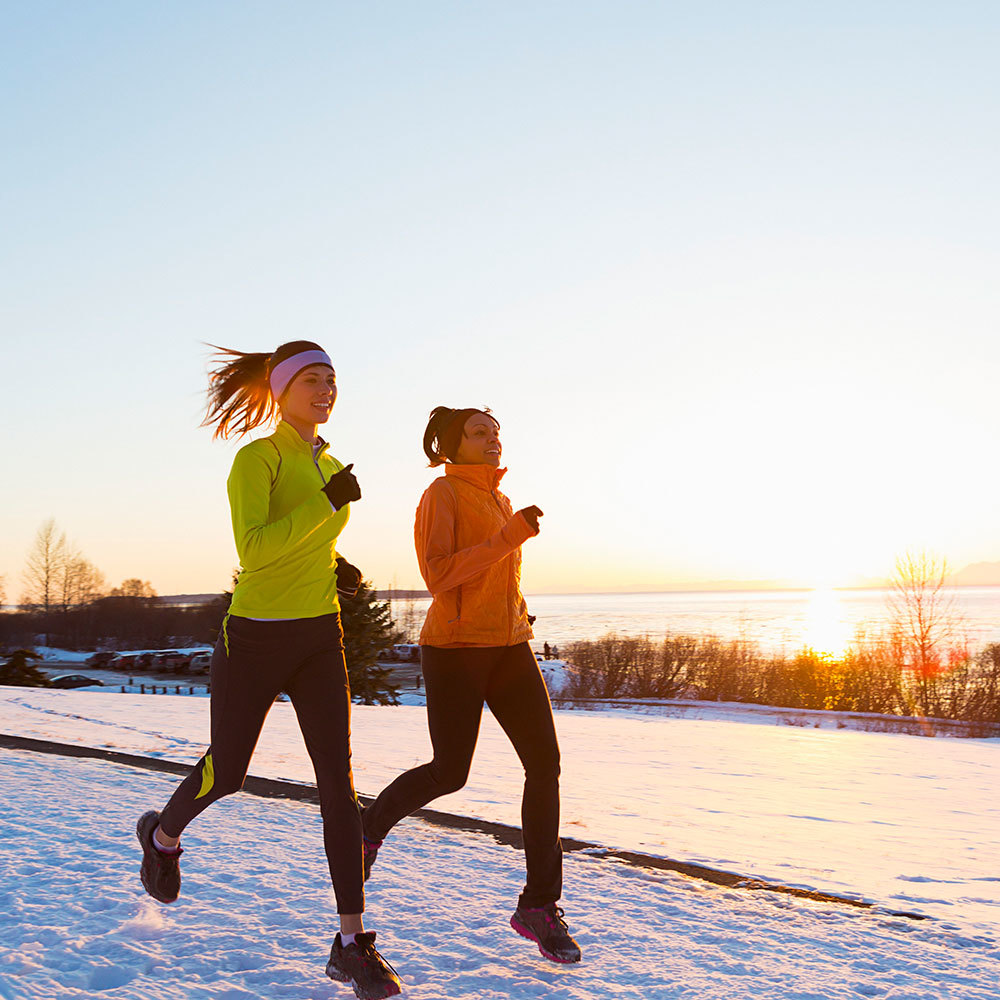 How To Run In The Snow Shape Magazine