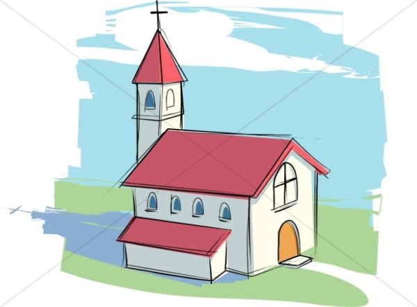 church clipart graphics