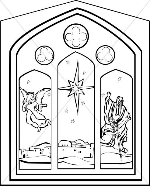 Nativity Clipart, Clip Art, Nativity Graphic, Nativity