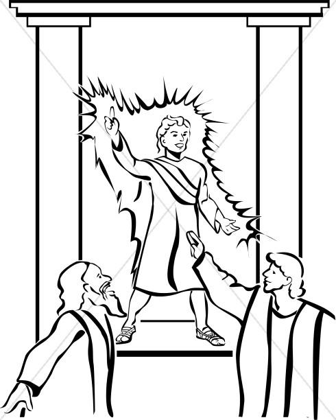 Boy Jesus Teaching in the Temple