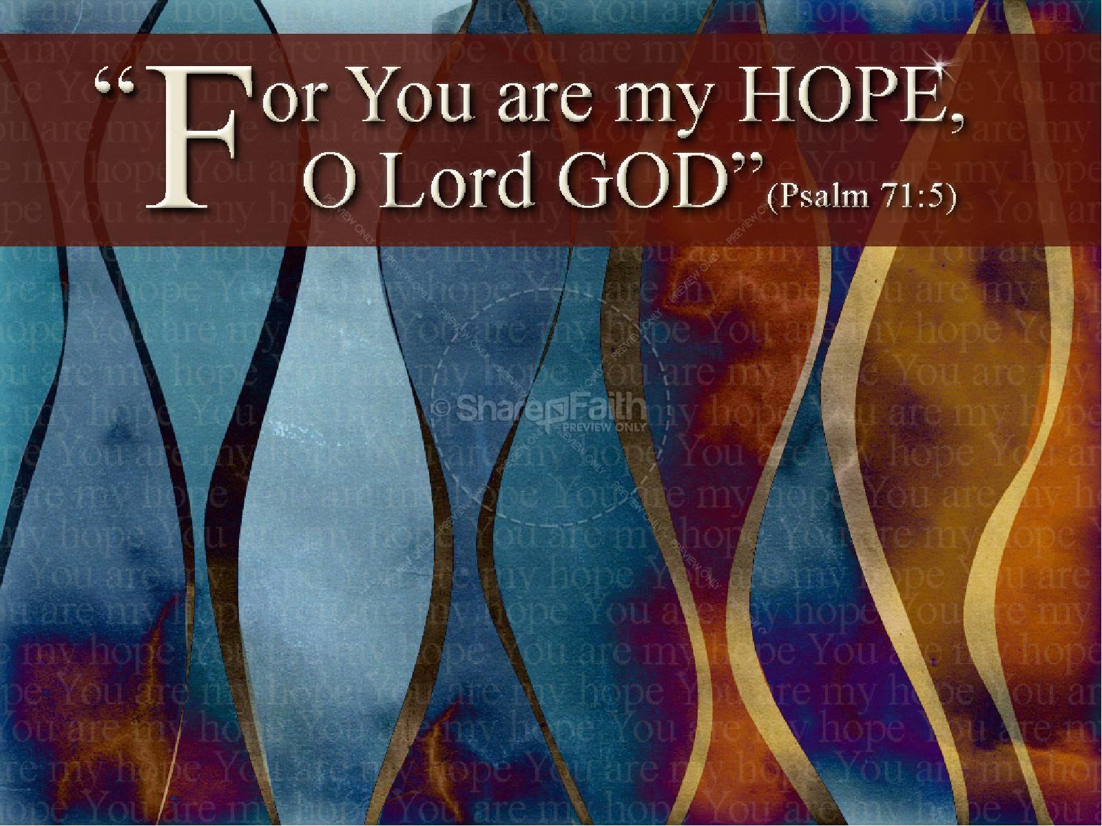 Powerpoint Prayer Scripture Background