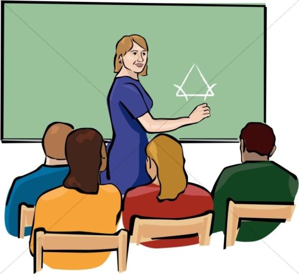 christian classroom clipart