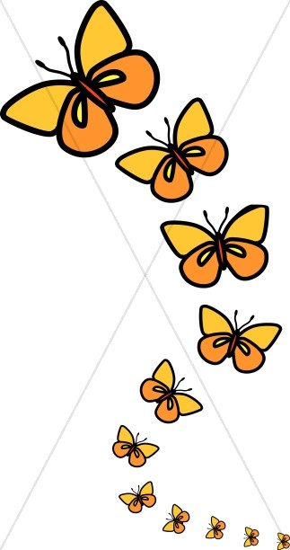 Butterfly Images Clip Art : butterfly, images, Butterflies, Clipart, Butterfly