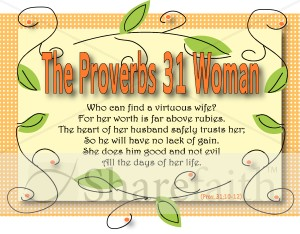 Proverbs 31 Woman Graphic Women's Ministry Word Art