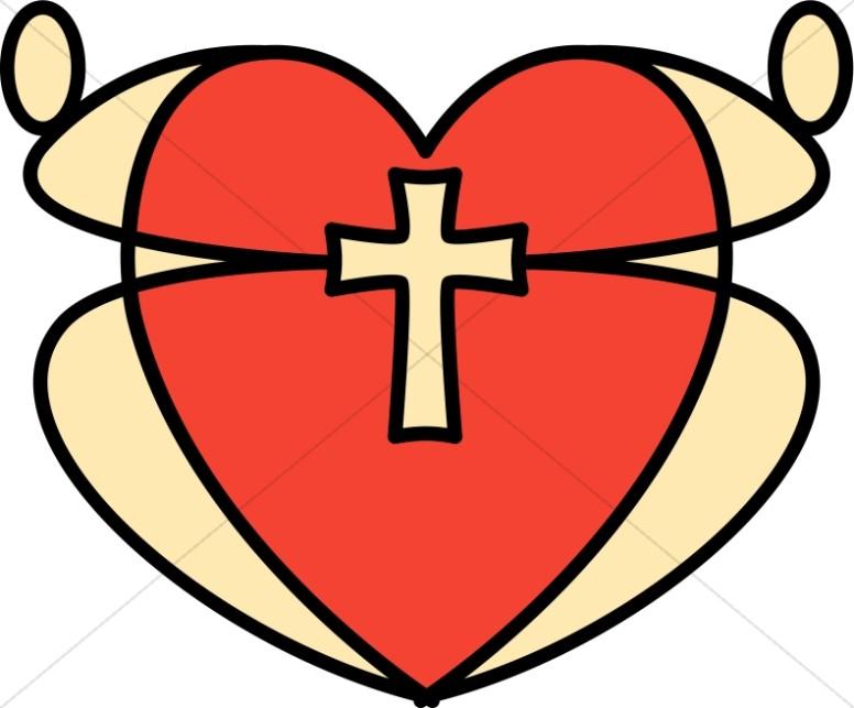 Christian Heart Clipart
