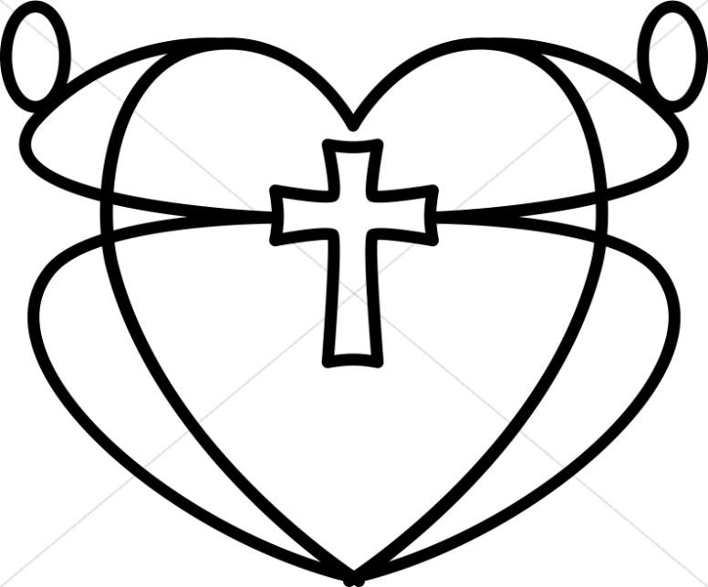 Christian Heart Clipart, Christian Heart Images