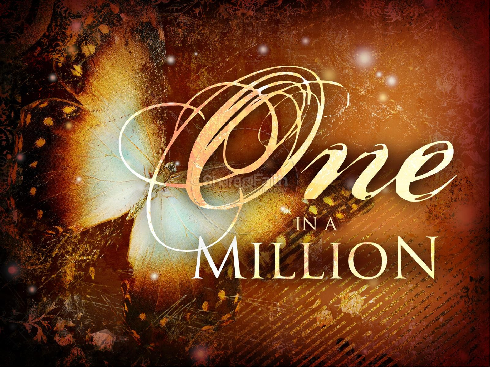 One In A Million Mothers Day PowerPoint Mothers Day