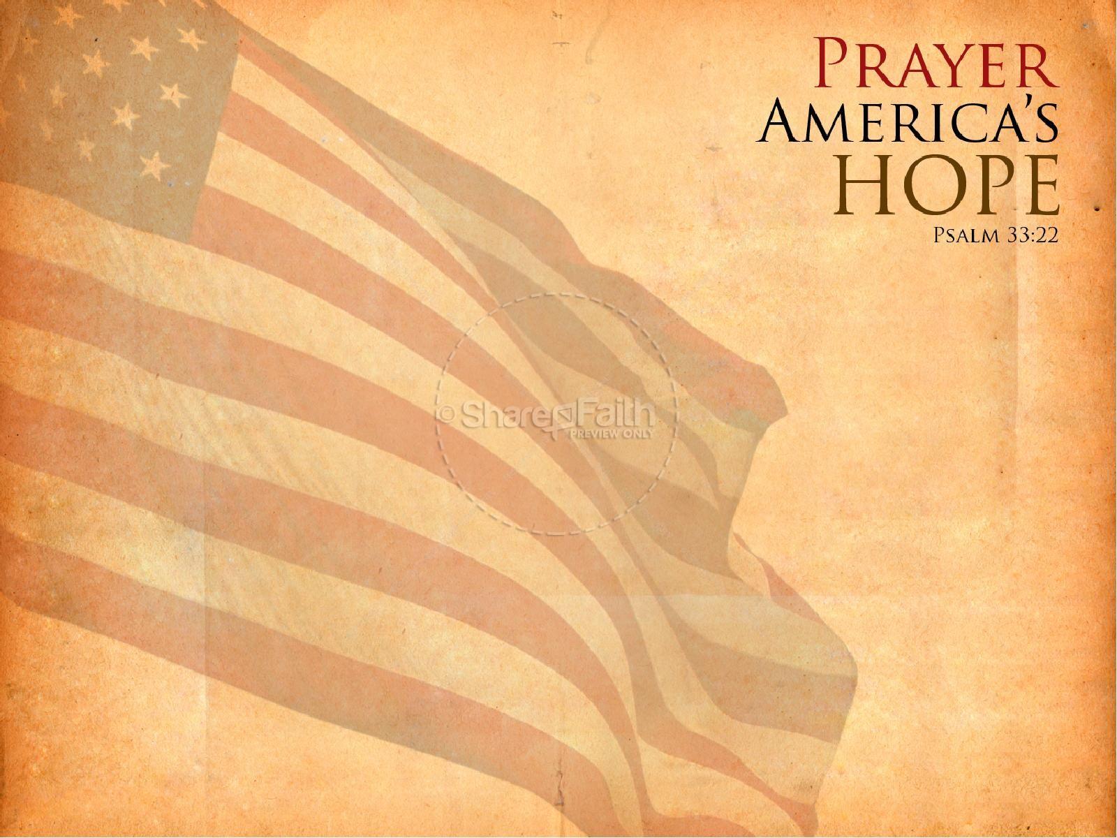national day of prayer powerpoint slideshow